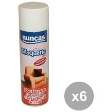 Set 6 Che Moquette Spray 500 Ml. Detergenti Casa