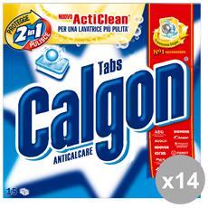 Set 14 Anticalcare X 15 Pastiglie Detergenti Casa