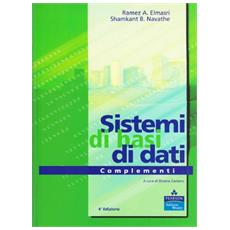 Sistemi di basi di dati. Complementi