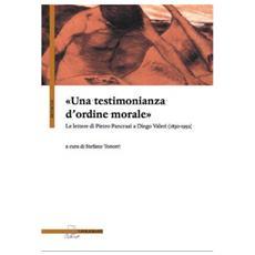 «Una testimonianza d'ordine morale». Lettere di pietro Pancrazi a Diego Valeri (1930-1952)