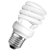 Lampadina A Spirale Compatta A Risparmio Energetico Da 11w Attacco E27 Extracalda