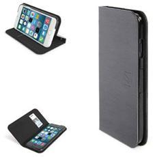 Filo - Flip cover per cellulare - ecopelle - nero - per Apple iPhone