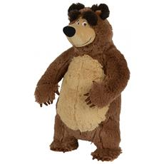 Masha Plush Bear Orso giocattolo Felpato Marrone