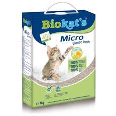 Micro Bianco Fresh - Lettiera Sacchetto da 7 kg