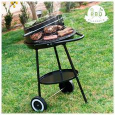 Barbecue A Carbone Con Doppio Livello