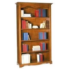 Libreria 5 Ripiani - Tinta Noce