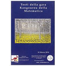 Testi della gara Kangourou della matematica