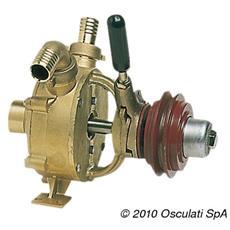 Pompa autoaspirante in bronzo 75 l / min