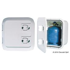 Gavone per bombole gas ventilazione remota