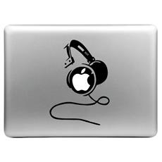 Sticker adesivo Cuffie per MacBook Air / Pro / Pro con display retina