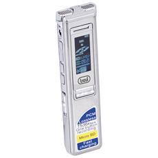 Mini Registratore Digitale Vocale 4gb Con Memoria Espandibile Dr 437 Sa