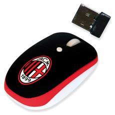 1000 Dpi, 10m, USB 2.0, 2.4 GHz, Nero / Bianco / Rosso