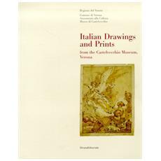 Italian drawing and prinz from the Castelvecchio museum Verona