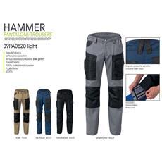Pantalone Hammer Light Nero Xl