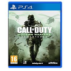 PS4 - Call of Duty Modern Warfare Remastered