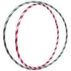 Set Da 2 Hula Hoop Colorati Con Brillantini Legler