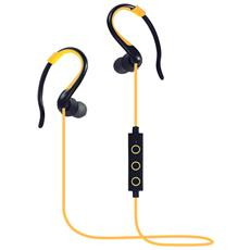 Earpods Auricolare Bluetooth Huawei Compatibile Con Xiaomi / samsung / oppo / iphone Bt-008 - Giallo