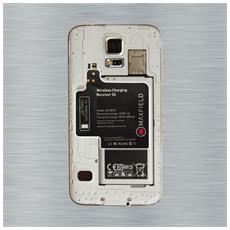 Wireless Charging Receiver S5, Interno, Esterno, Smartphone, DC, Nero, 5V, 5V