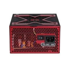 Strike-X 500W 500W ATX Nero, Rosso alimentatore per computer