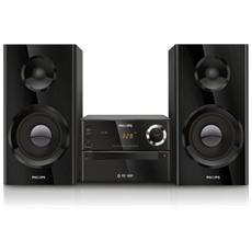 Sistema Micro Hi-Fi BTD2180 Lettore DVD / CD / MP3 / USB Potenza 70 Watt Bluetooth