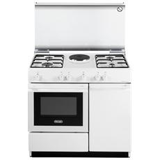 De longhi cucina gas con forno elettrico sew 8541 n 4 fuochi acciaio inox colore bianco eprice - Offerte cucine a gas ...