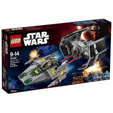 75150 Tie Advanced Di Vader Contro A-Wing Star