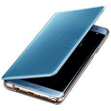 Cover Note 7 Flip View Clear Blue Ricondizionato