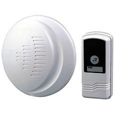 Campanello Senza Fili 433.92mhz 80 Metri Wireless Con Telecomando Din Don