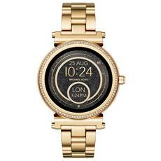9a994e972c237 MICHAEL KORS - Smartwatch Sofie MKT5021 Resistente all Acqua IP67 4GB WiFi    Bluetooth con GPS e Contapassi Oro - Europa