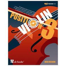 Nico Dezaire - Violin Position 3 + Cd - Position 1&3