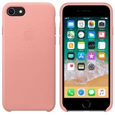 Cover in Pelle colore Rosa Tenue per iPhone 7