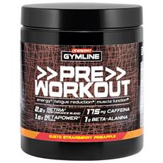 Gymline Pre Workout 313g Preworkout Con Glutatione Citrullina Arginina Betaina