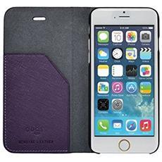 """QD-7680-V 4.7"""" Custodia a libro Porpora custodia per cellulare"""