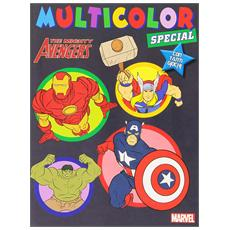 The Avengers. Multicolor compact. Con gadget
