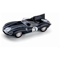 Bm0149b Jaguar D Type N. 3 Winner Le Mans 1957 Bueb-flockhart 1:43 Modellino