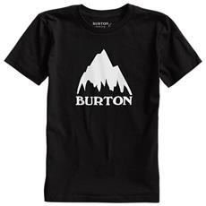 T-shirt Bambino Classic Mountain S Nero