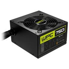 Alimentatore PC WPC750 80 Plus Bronze ATX 2.4 750W Colore Nero