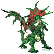 Drago Verde Master Dragons Cm 15x9x15 Per Bambini Di 5 Anni + Eta'.