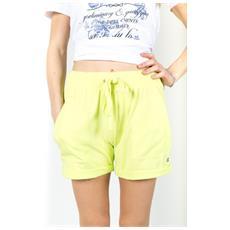 Shorts Ny Donna Fiammato Giallo S