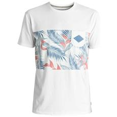 T-shirt Faded Time Bianco Fantasia Xl