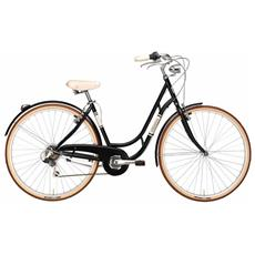 """Bicicletta Danish Nexus Da Donna Di Cicli Adriatica, Telaio In Alluminio, Ruote Da 28"""""""" E Cambio Automatico Al Mozzo"""