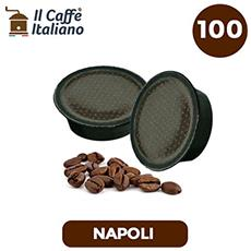 100 Capsule Compatibili Lavazza A Modo Mio - 100 Capsule Caffè Napoli Compatibili Macchina Caffè Lavazza A Modo Mio - Macchina Caffè Lavazza Kit 100 Capsule Compatibili - Il Caffè Italiano