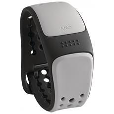 Mio Link Arctic Cardiofrequenzimetro con cinturinio corto - Grigio