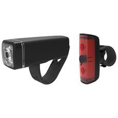 Luce Anteriore e Posteriore Rosso Bianco a LED per Bici