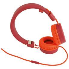 WiShake Cuffie con filo colore Arancione