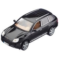 Mi31634s Porsche Cayenne Turbo 2002 Silver 1:18 Modellino