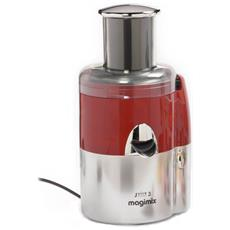 Estrattore Di Succo A Freddo Multifunzione Juice Expert 3 Potenza 400 Watt Colore Rosso / cromo