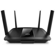 Router Wireless EA8500 Smart Wi-Fi AC2600 Dual-Band 4 Porte Gigabit Ethernet USB3.0 Tecnologia MU-MIMO
