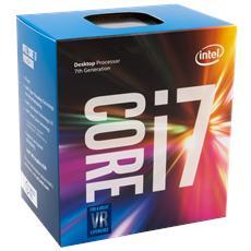 Processore Core i7-7700 (Kaby Lake) Quad-Core 3,6 GHz GPU integrata Intel HD 630 Socket LGA 1151 Boxato (Dissipatore Incluso)