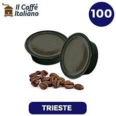 100 Capsule Compatibili Lavazza A Modo Mio - 100 Capsule Caffè Trieste Compatibili Macchina Caffè Lavazza A Modo Mio - Macchina Caffè Lavazza Kit 100 Capsule Compatibili - Il Caffè Italiano